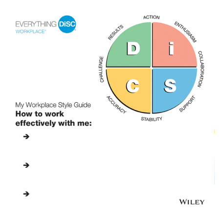 Everything-DiSC-Workplace-Style-Guides