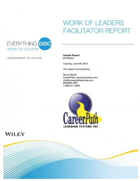 DiSC Work of Leaders Facilitator Report
